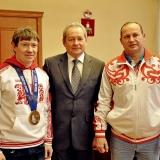 Александру Смышляеву присвоили звание заслуженного мастера спорта России