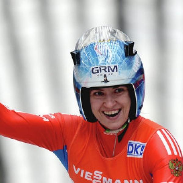 Татьяна Иванова одержала победу на чемпионате России по санному спорту